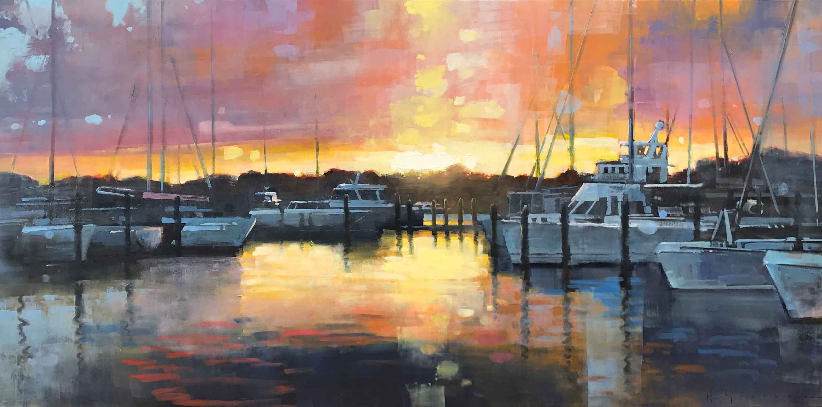 Moody Marina by Mr. Matt Sievers - Masterpiece Online