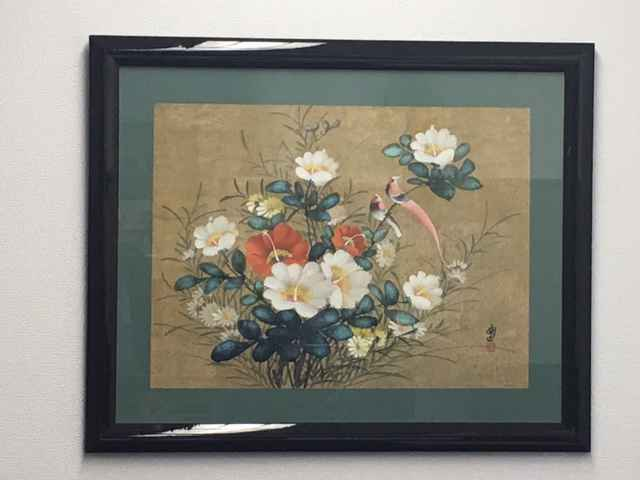 Red Birds and Flowers by   Unknown - Masterpiece Online