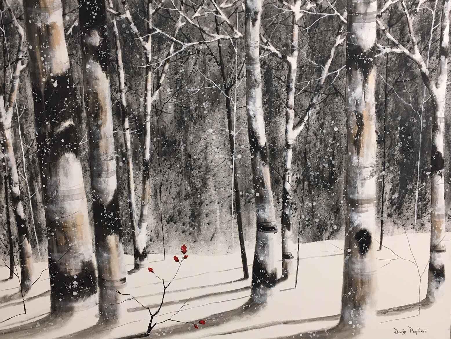 A Winter's Day by  Doris Pontieri - Masterpiece Online