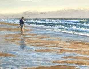 Dawn at Dogfish 4/50 by  Anna L. Finnerty - Masterpiece Online