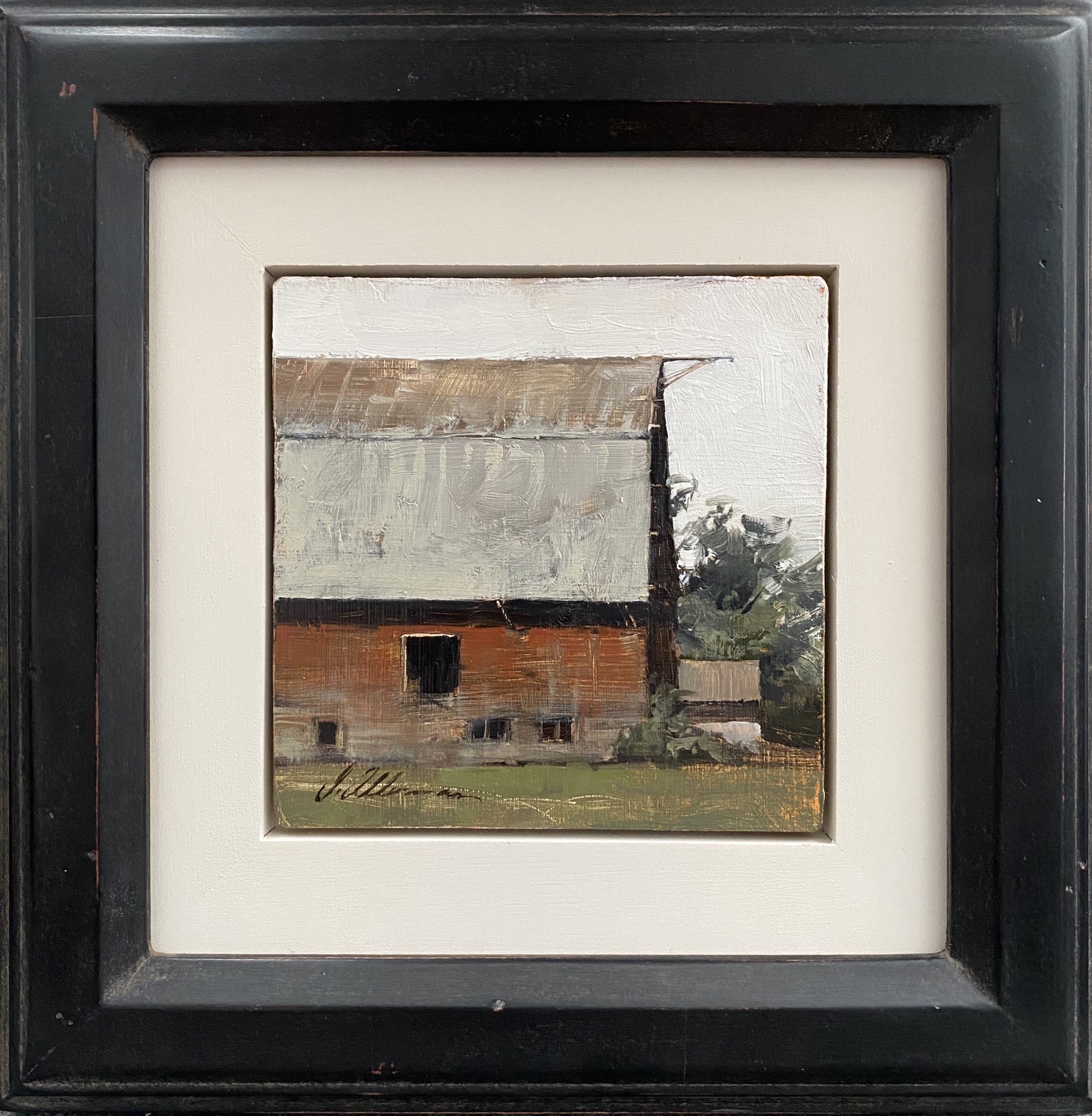 South Morning Barn by Mr. Joseph Alleman - Masterpiece Online