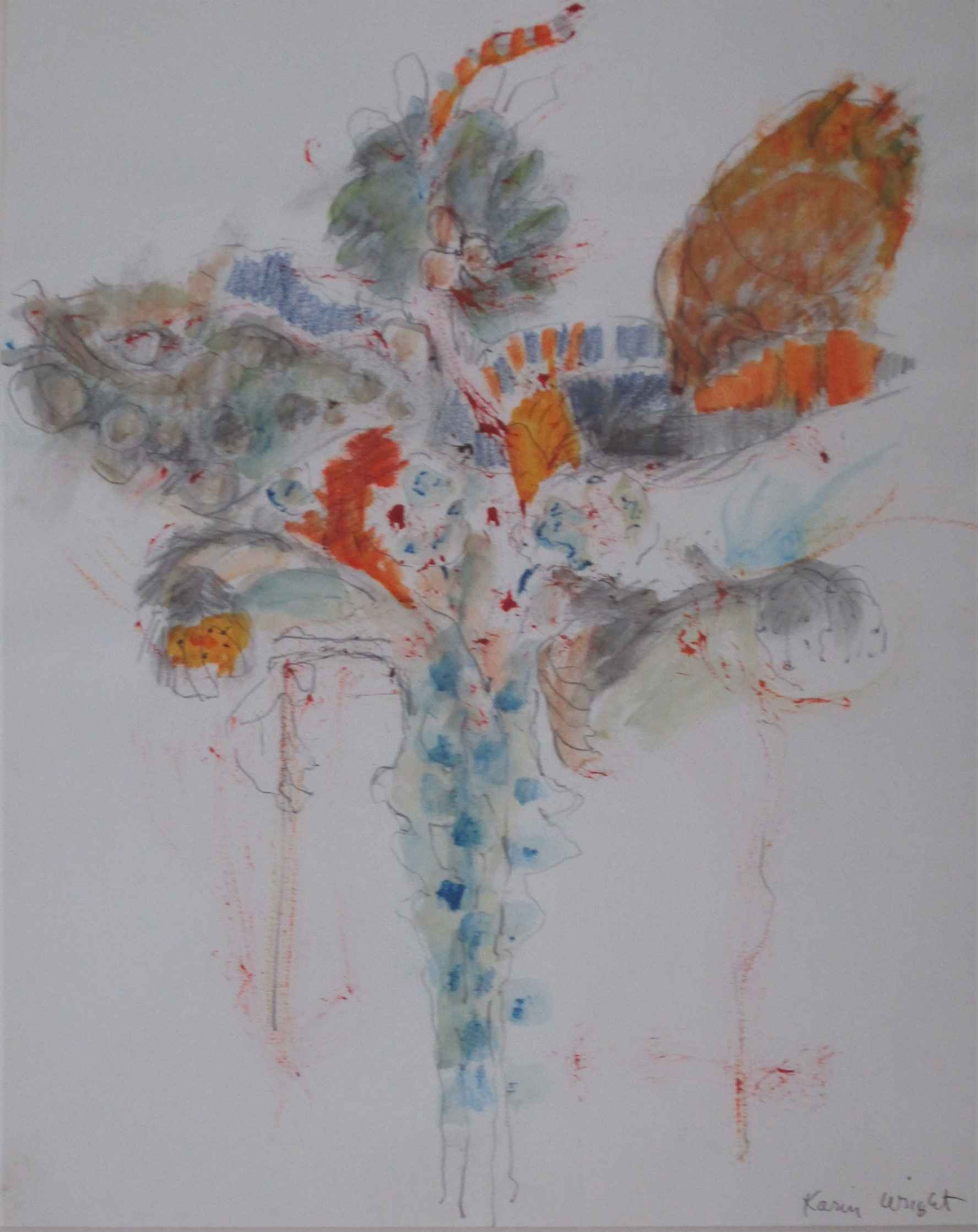 Unknown ( Iris Fairy) by  Karin Wright - Masterpiece Online