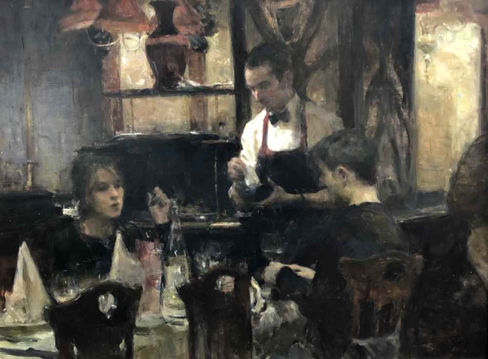 Dinner Discussion  by  Ron Hicks