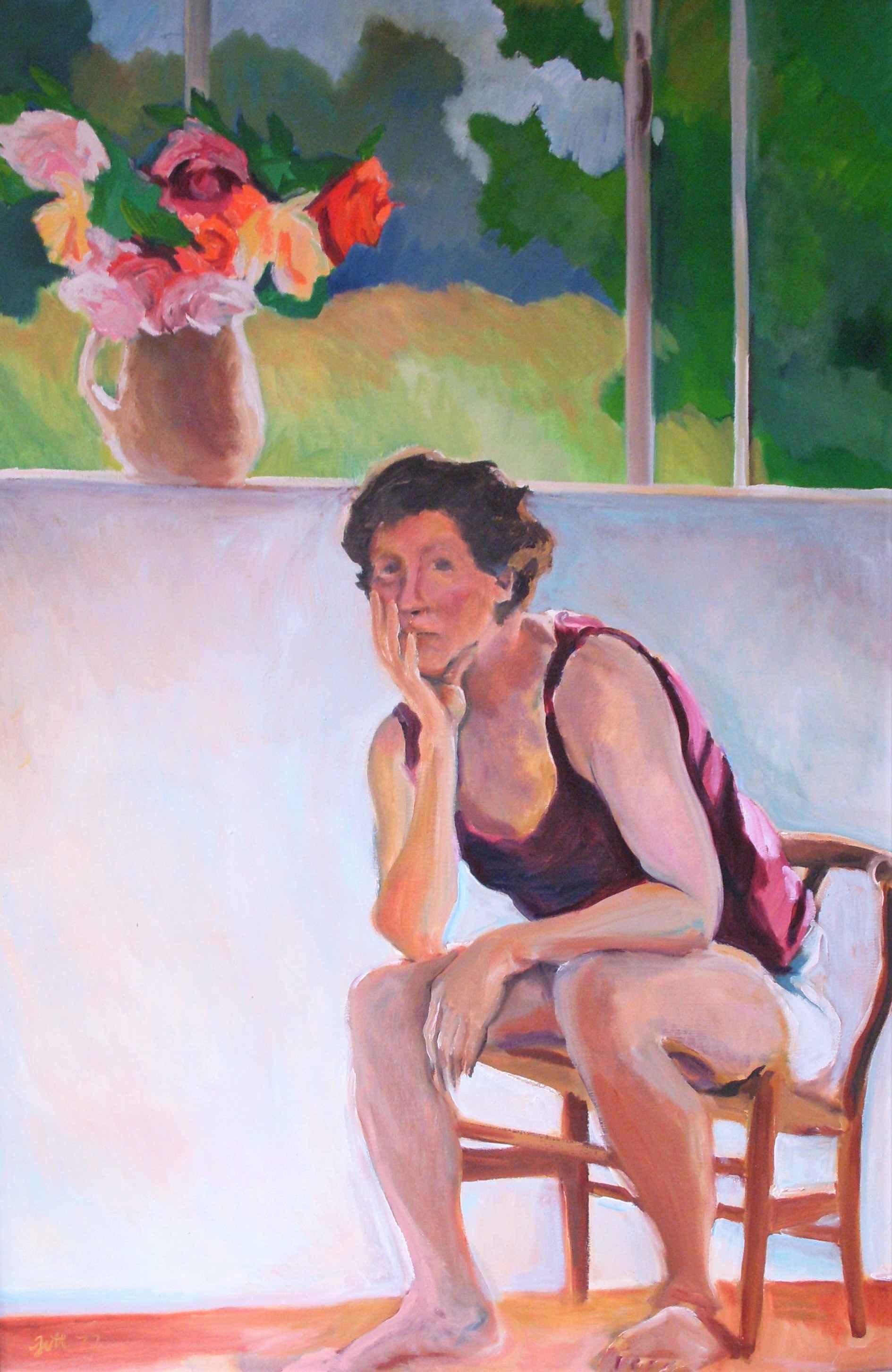 Unknown (Self Portrai... by  Shirley Gittelsohn - Masterpiece Online