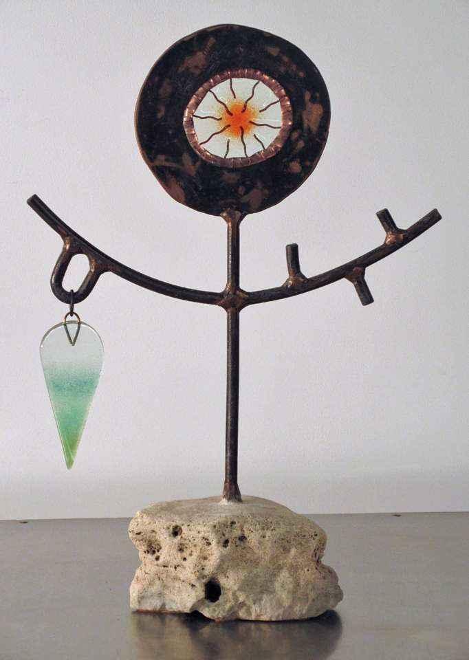 Rock Flower with Thre... by Mr Peter Mangan - Masterpiece Online
