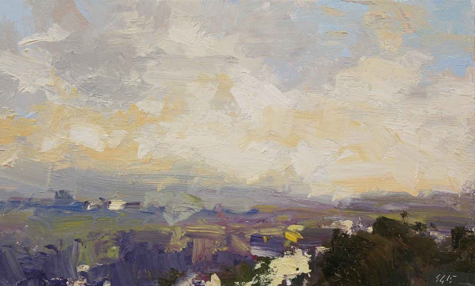 Morning Clouds by  Scott Gellatly - Masterpiece Online