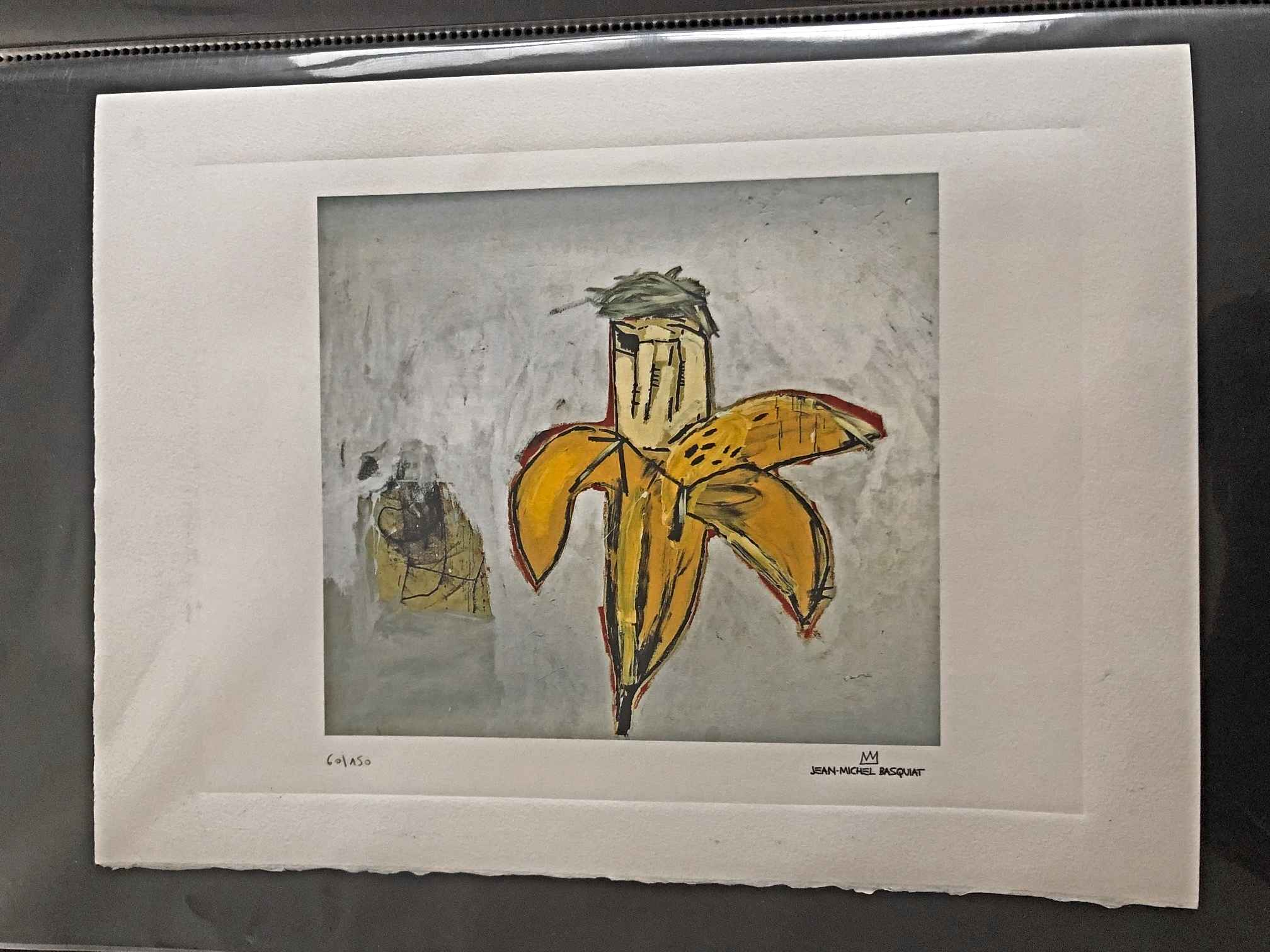 Banana aka Brown Spot... by  Jean-Michel Basquiat - Masterpiece Online