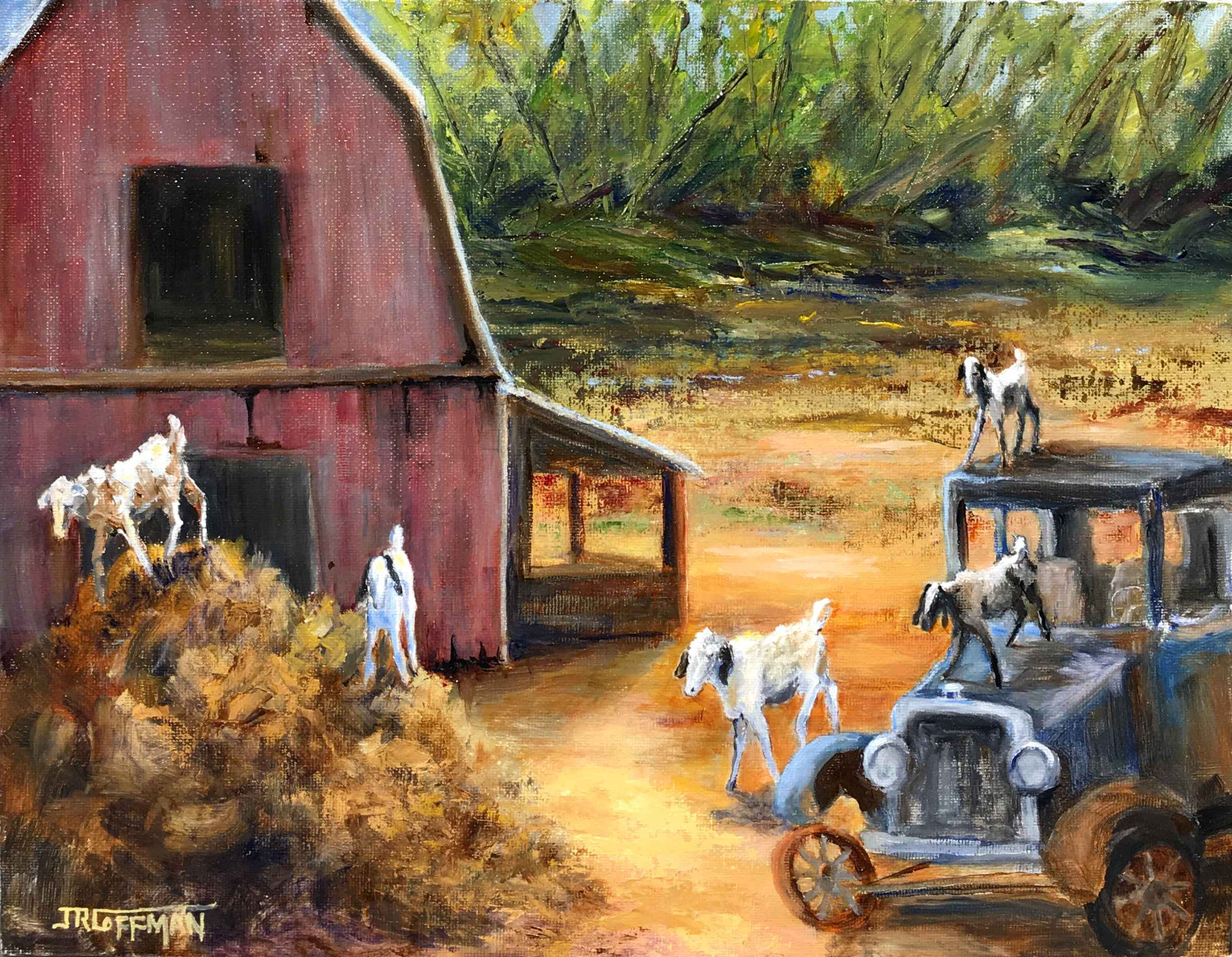 A Gathering of Goats by  Jim Coffman - Masterpiece Online