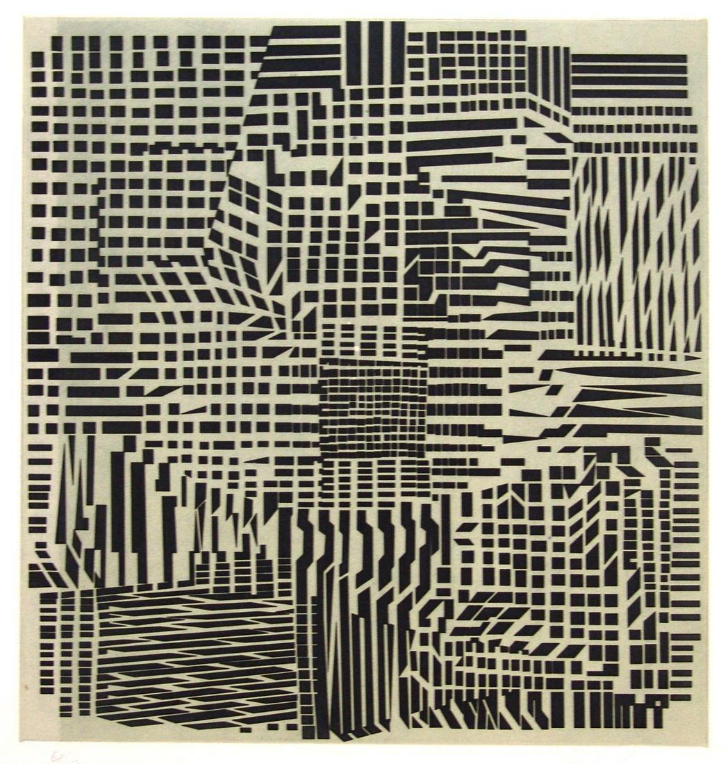 Korna - Posi by  Victor Vasarely - Masterpiece Online