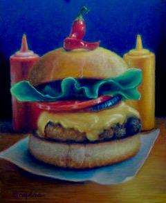 Burger with Pepper