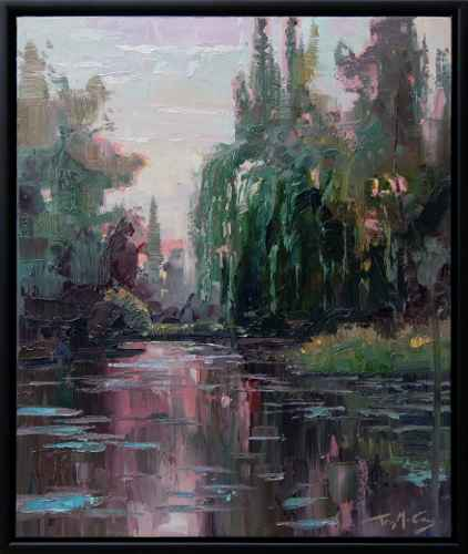 Willow Pond by  Trey McCarley - Masterpiece Online