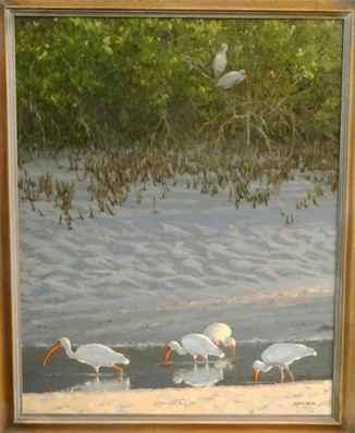 White Ibis by  Anne Geise - Masterpiece Online