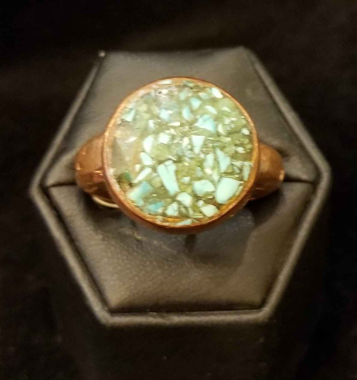 Ring - Copper 1/2 ro... by  Aziah Poimandres - Masterpiece Online