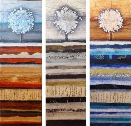 Origines I, II, III by  Dominique DEBATY - Masterpiece Online