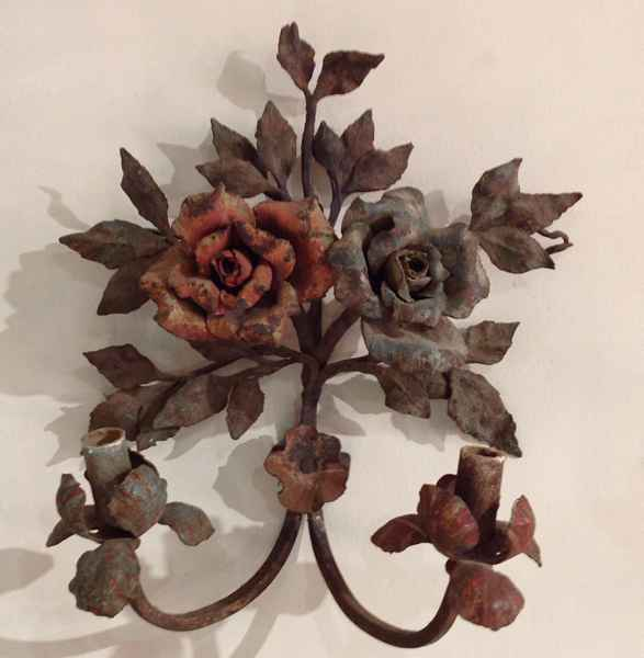 Pair of Iron Sconces by  Italian  - Masterpiece Online