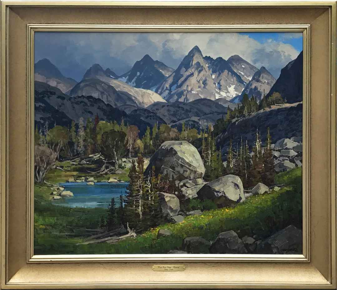 Wind River Range-Wyom... by  Lanny Grant - Masterpiece Online