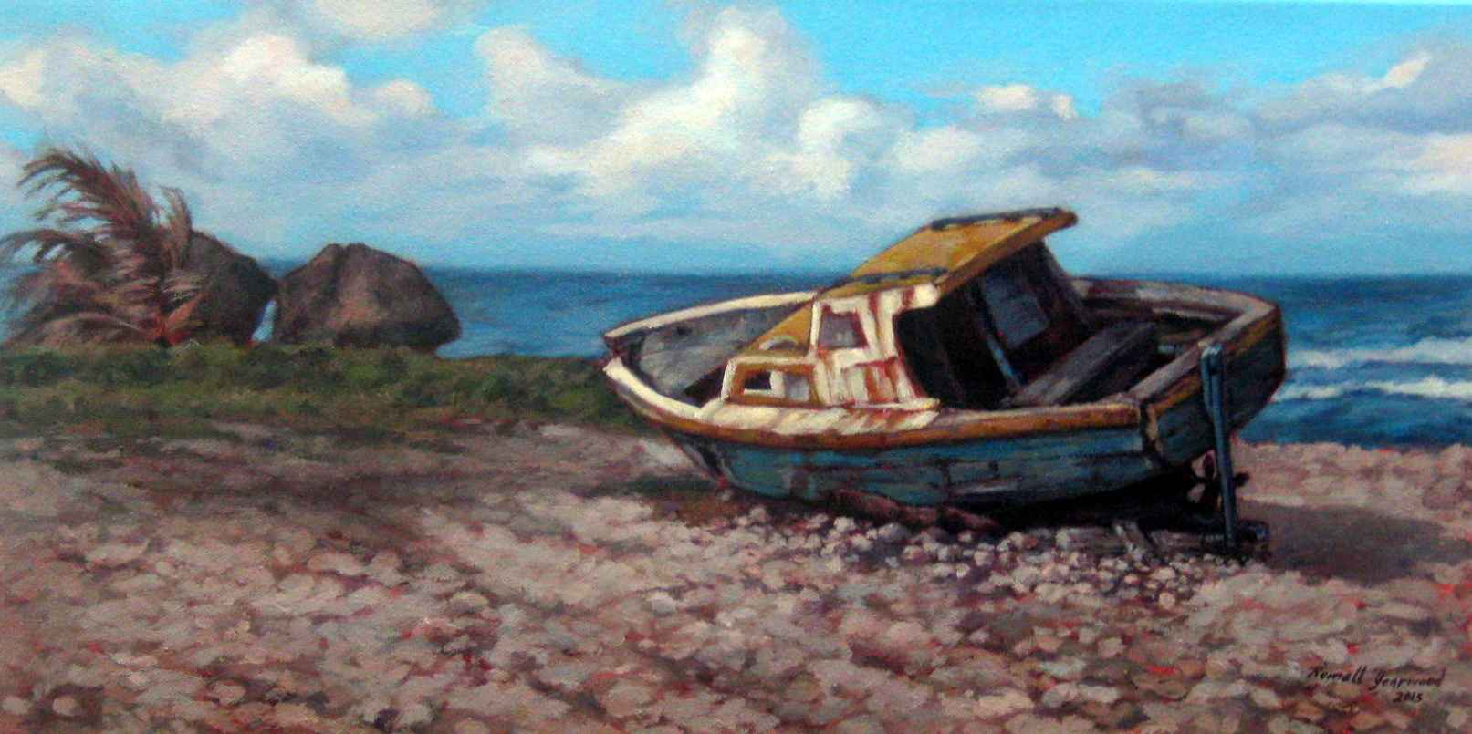 Windy by  Romell Yearwood - Masterpiece Online
