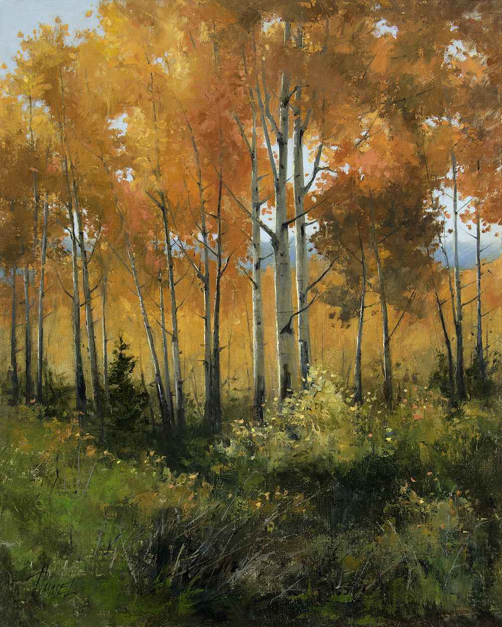 Painting Autumn Color... by Ms. Peggy Immel - Masterpiece Online