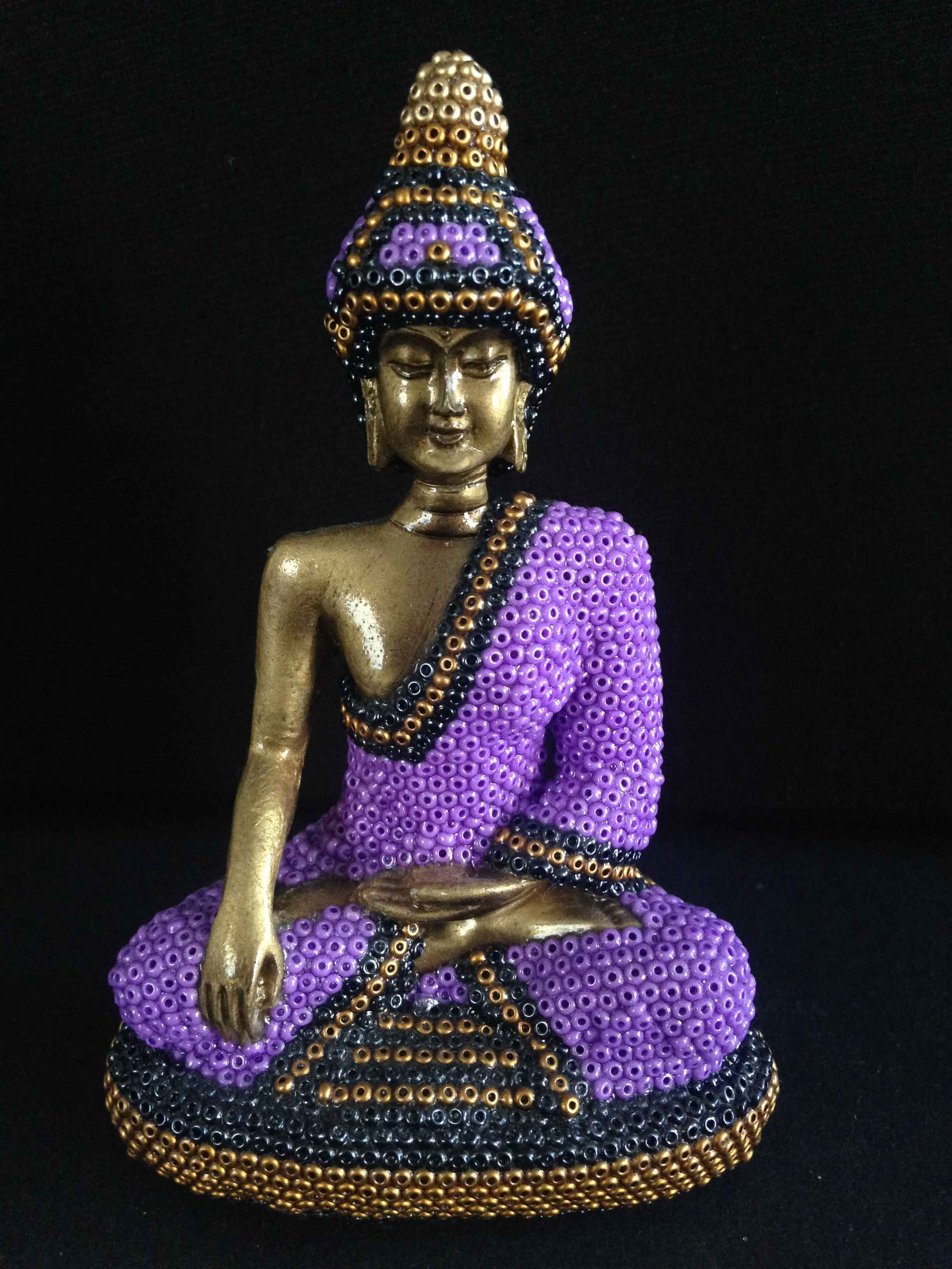 Baby Buddha - Purple by  Joshua  - Masterpiece Online