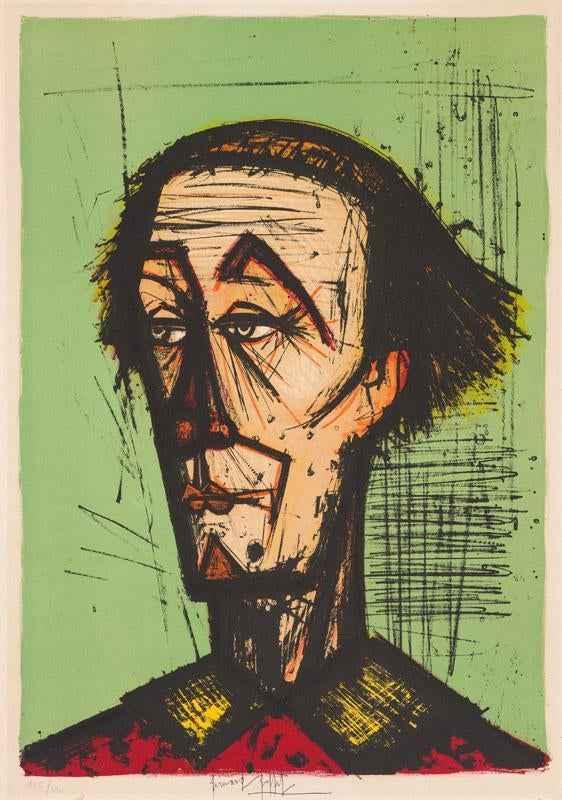Un August Clown/Mon C... by  Bernard Buffet - Masterpiece Online
