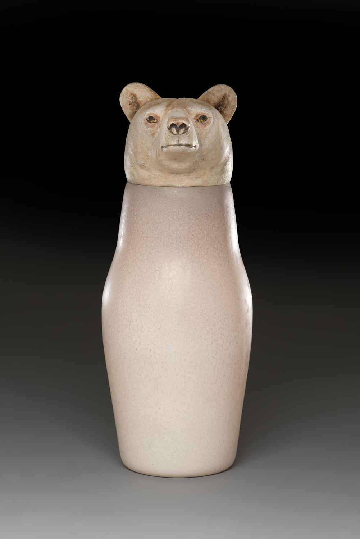 Spirit Bear Jar