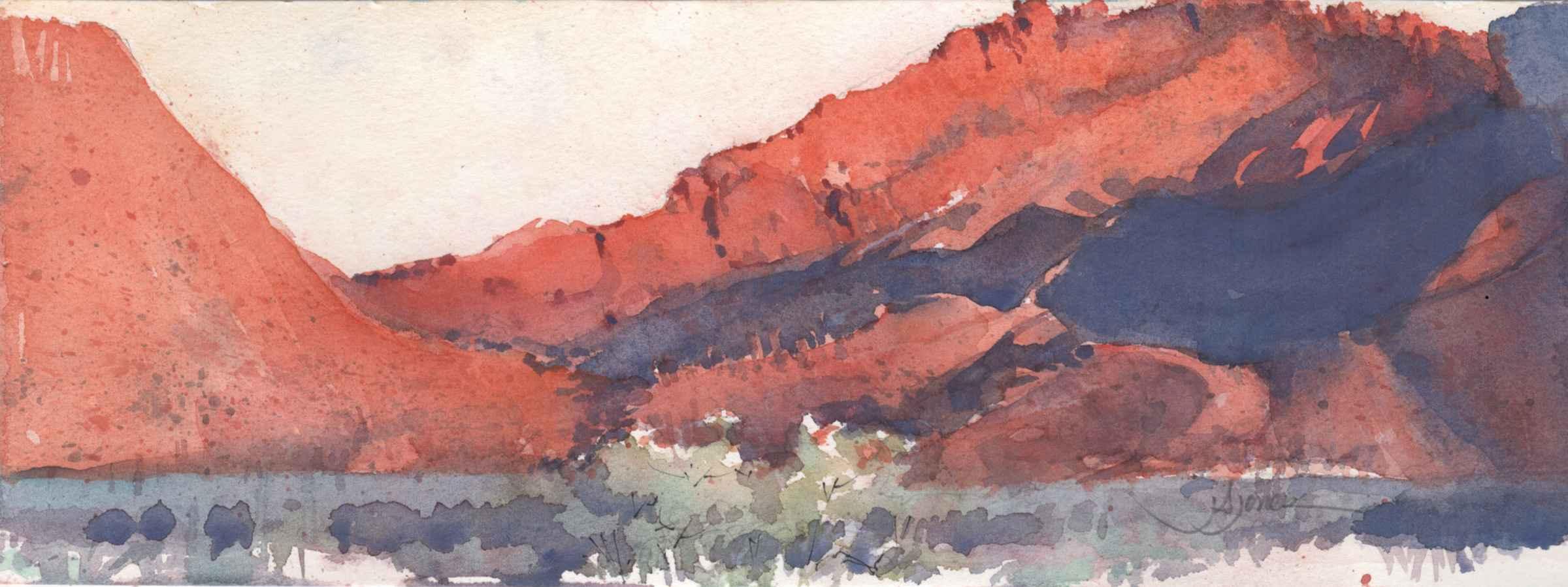 Red Lands Morning