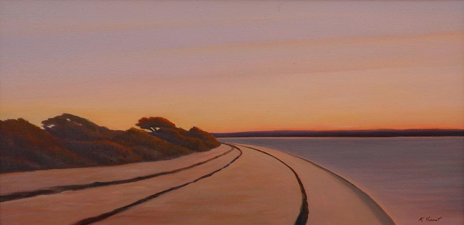 Tashmoo Sunrise by  Kenneth Vincent - Masterpiece Online