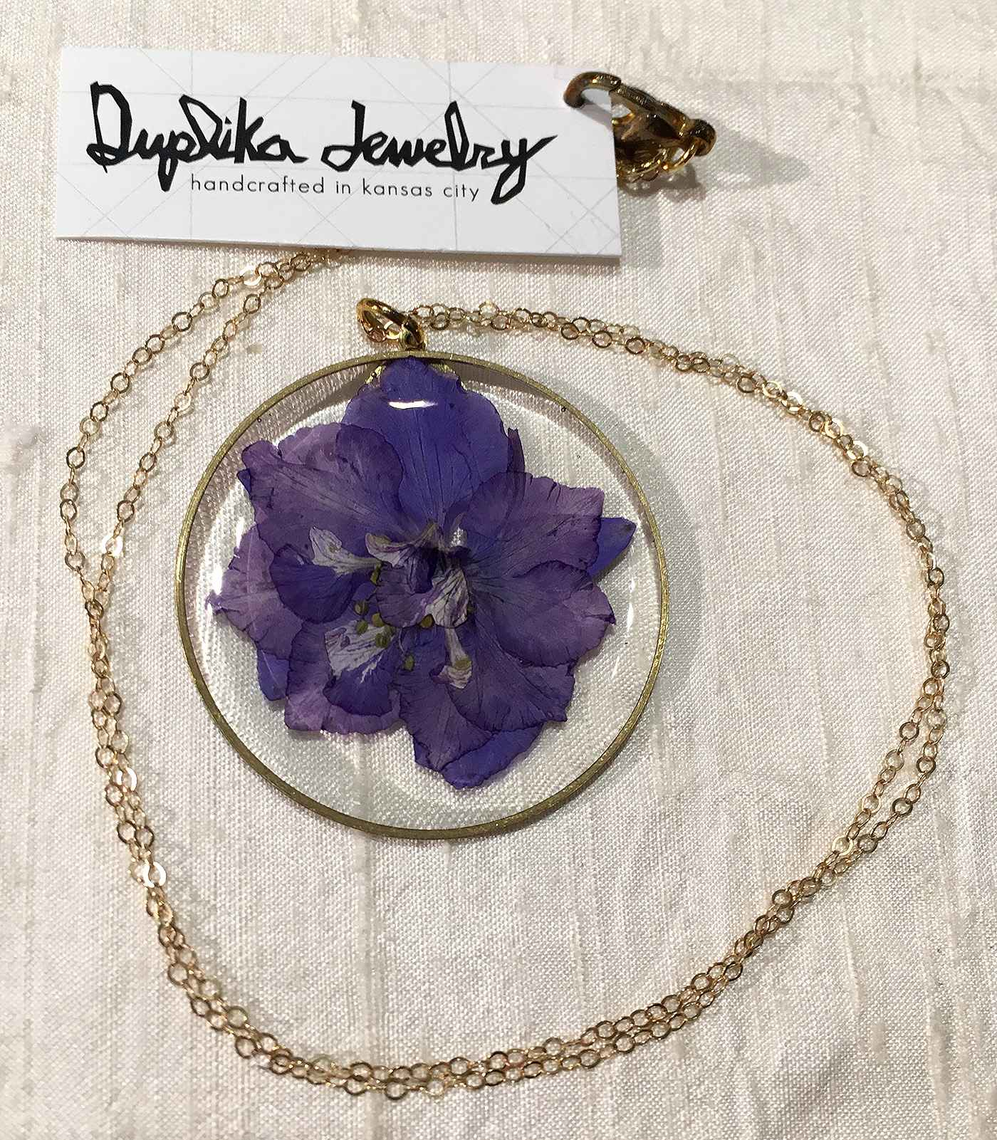 Duplika Purple Circle...  by   Artisan Jewelry