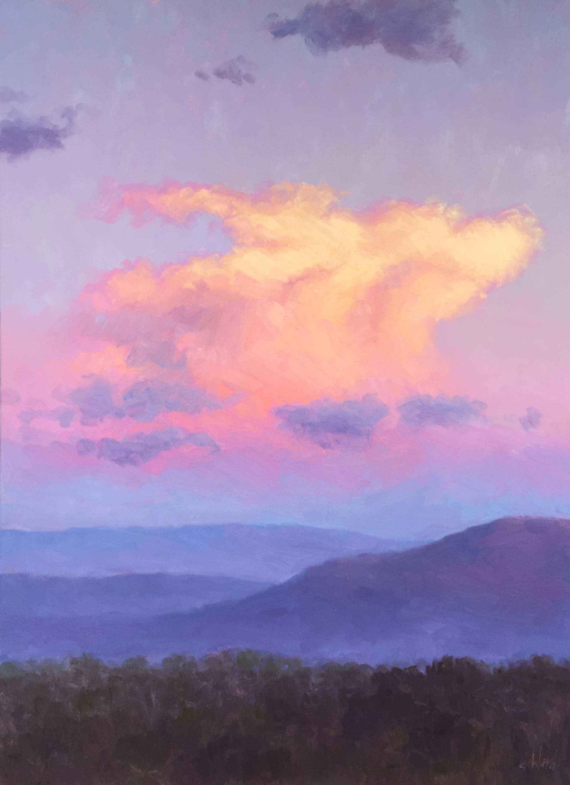 Softly at Sunset by  Don Ward - Masterpiece Online