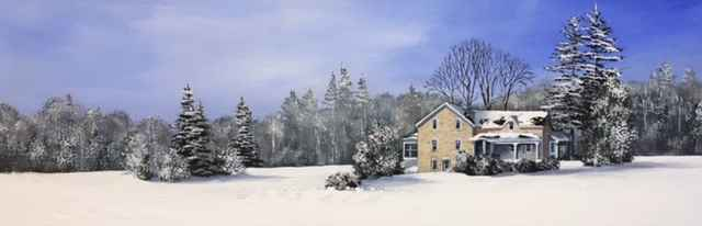 Snuggled In For Winter by  Janet Liesemer - Masterpiece Online