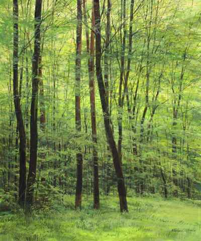 Shades of Green by  Michael Wheeler - Masterpiece Online