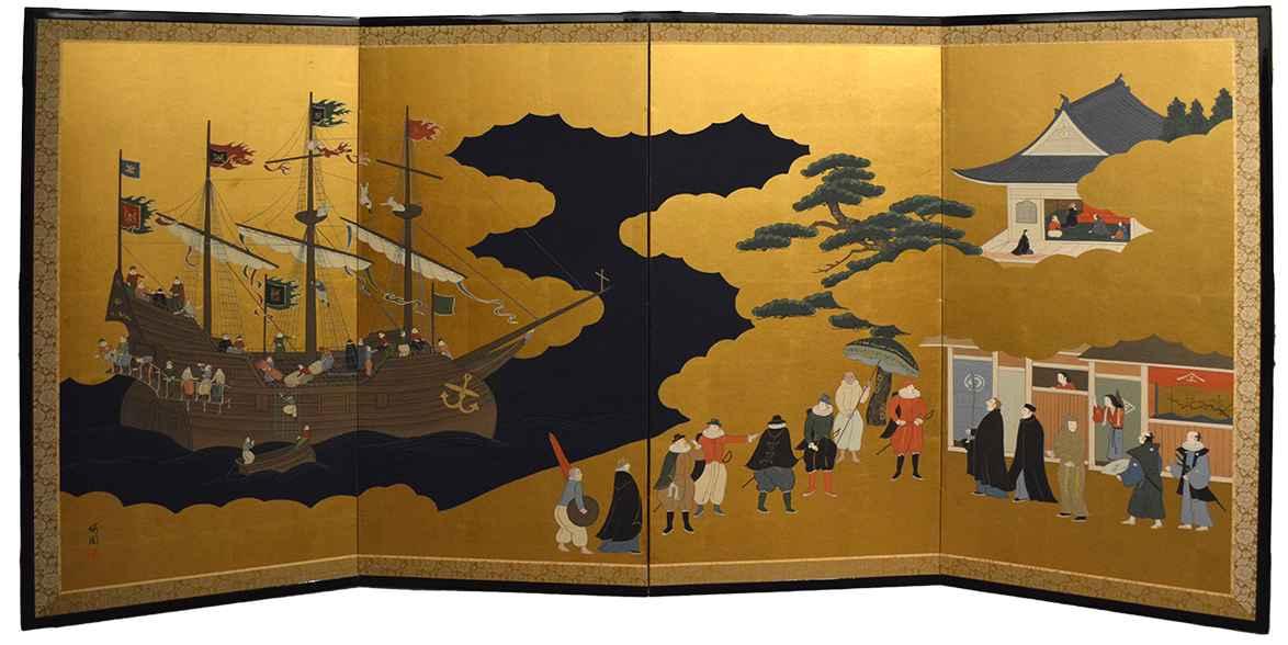 Nanbansen by  Oh-en Tanaka - Masterpiece Online