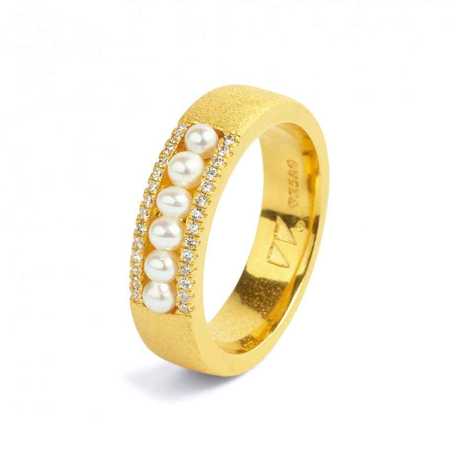 Alana Pearl Ring by  Bernd Wolf - Masterpiece Online