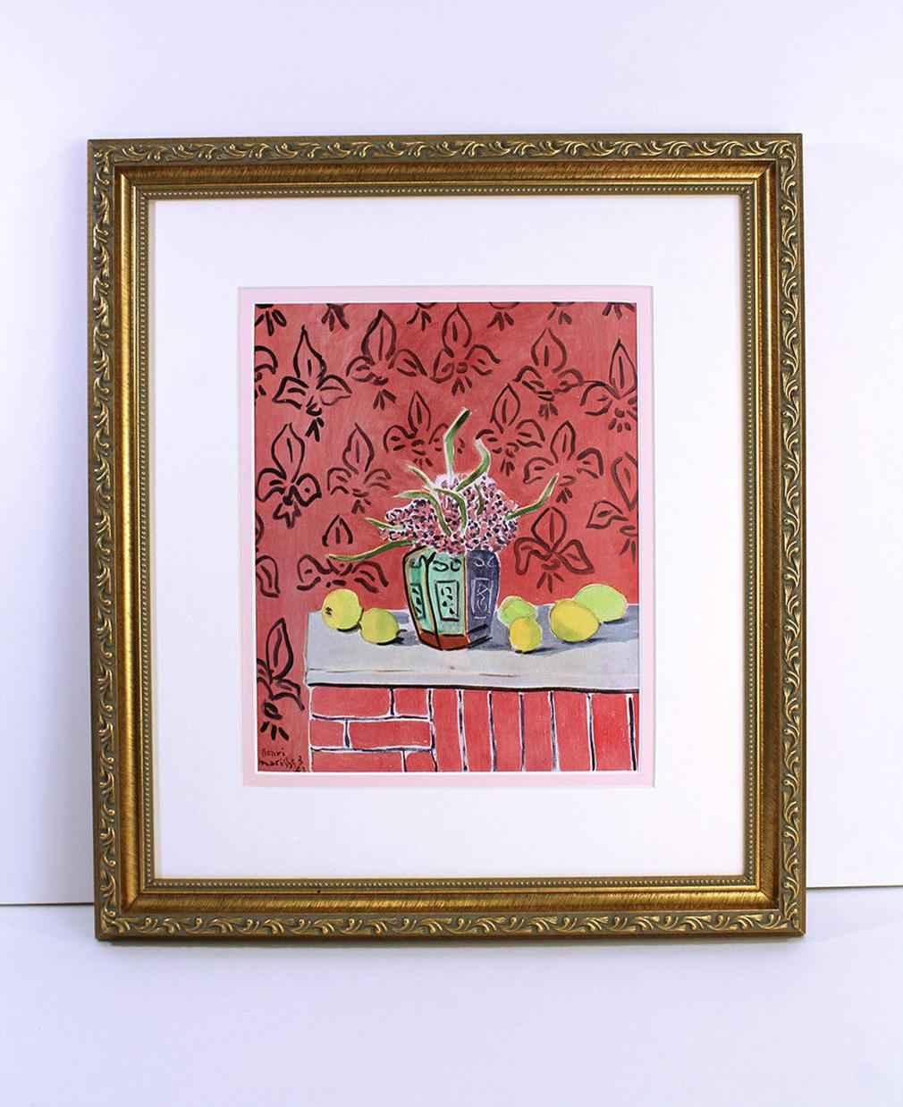 Lemons on Pink Fleur ... by  Henri Matisse - Masterpiece Online
