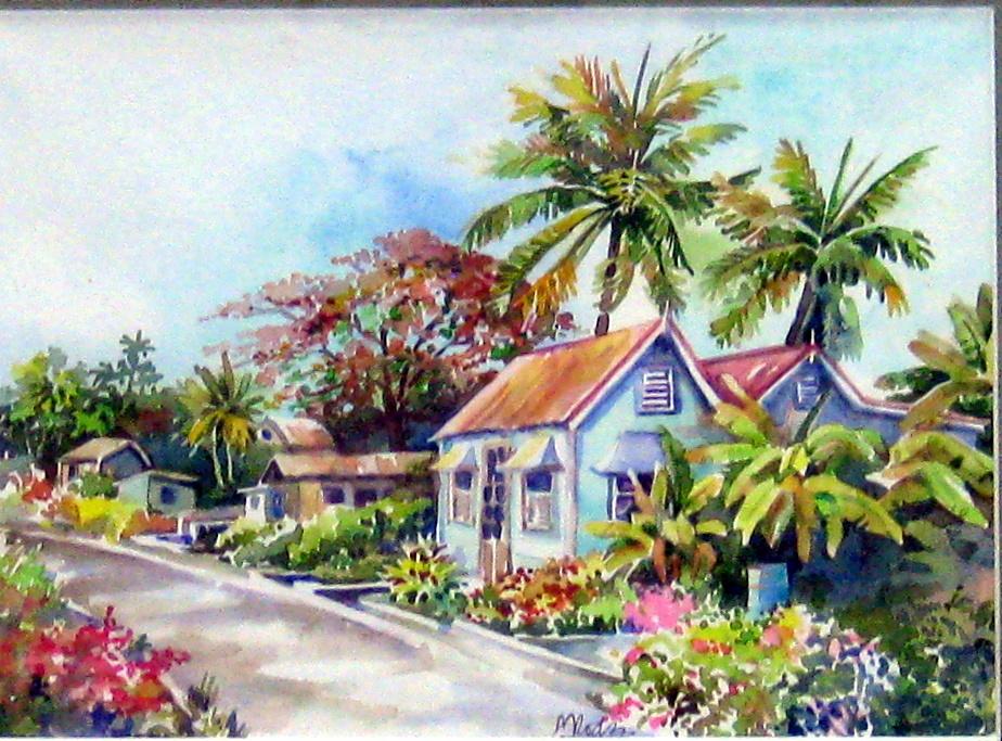 Village Life by Ms. Margaret Rodriguez - Masterpiece Online