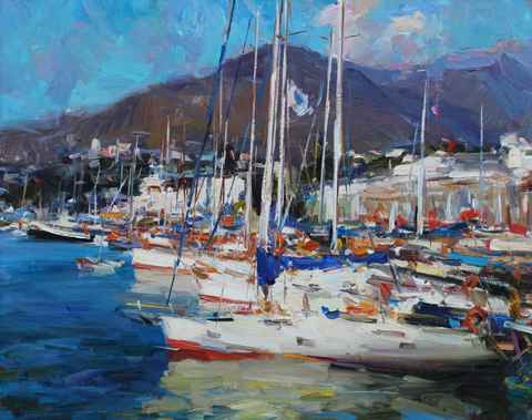 Yachts by   Shabadei - Masterpiece Online