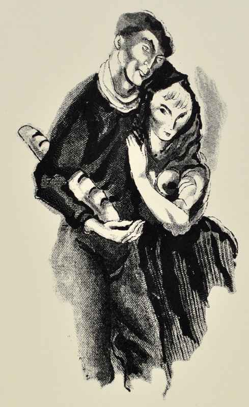Man & Woman by  Bernard Brussel-Smith (1914-1989) - Masterpiece Online
