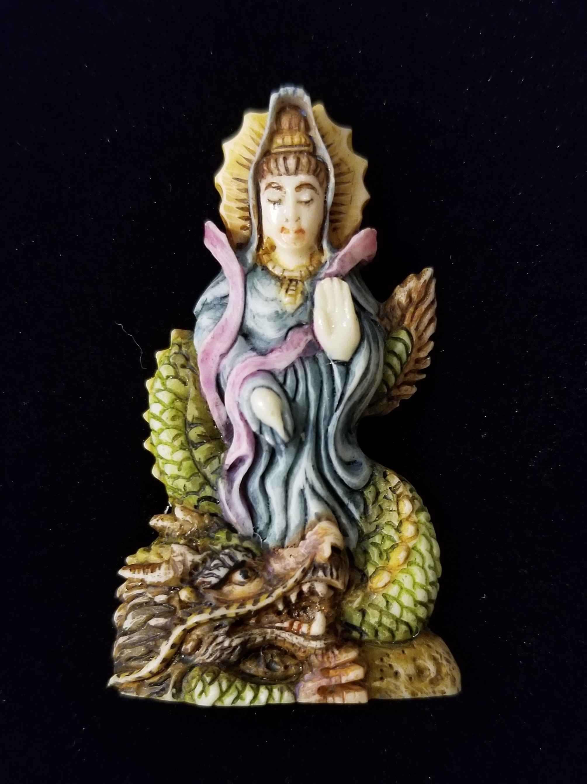 Painted Kuan Yin by  Susan Tereba - Masterpiece Online