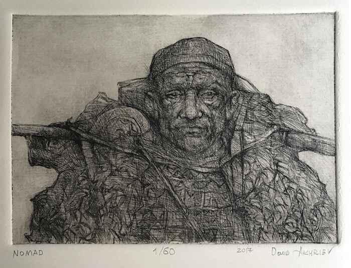 Nomad by  Daud Akhriev - Masterpiece Online