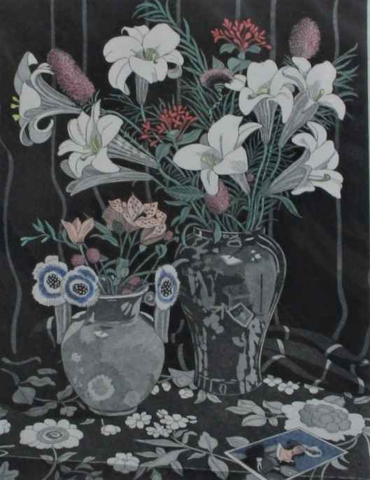 Still Life with Lilies by  Sherrie Wolf - Masterpiece Online