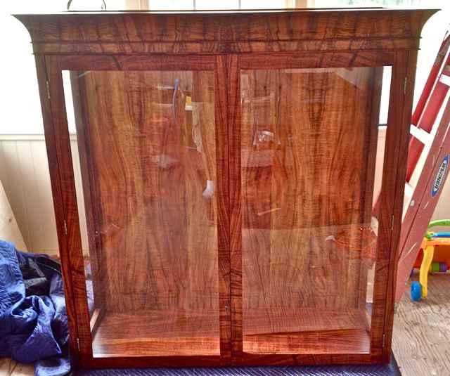 Koa Cabinet Hutch by  Joshua Johansen - Masterpiece Online