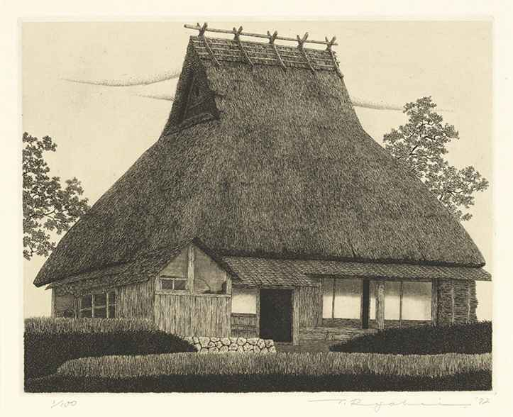 Thatched Roof No.13 by  Ryohei Tanaka - Masterpiece Online
