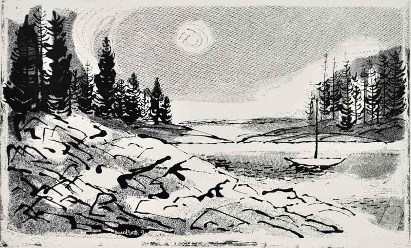 Goose Cove, Maine (c.... by  Bernard Brussel-Smith (1914-1989) - Masterpiece Online