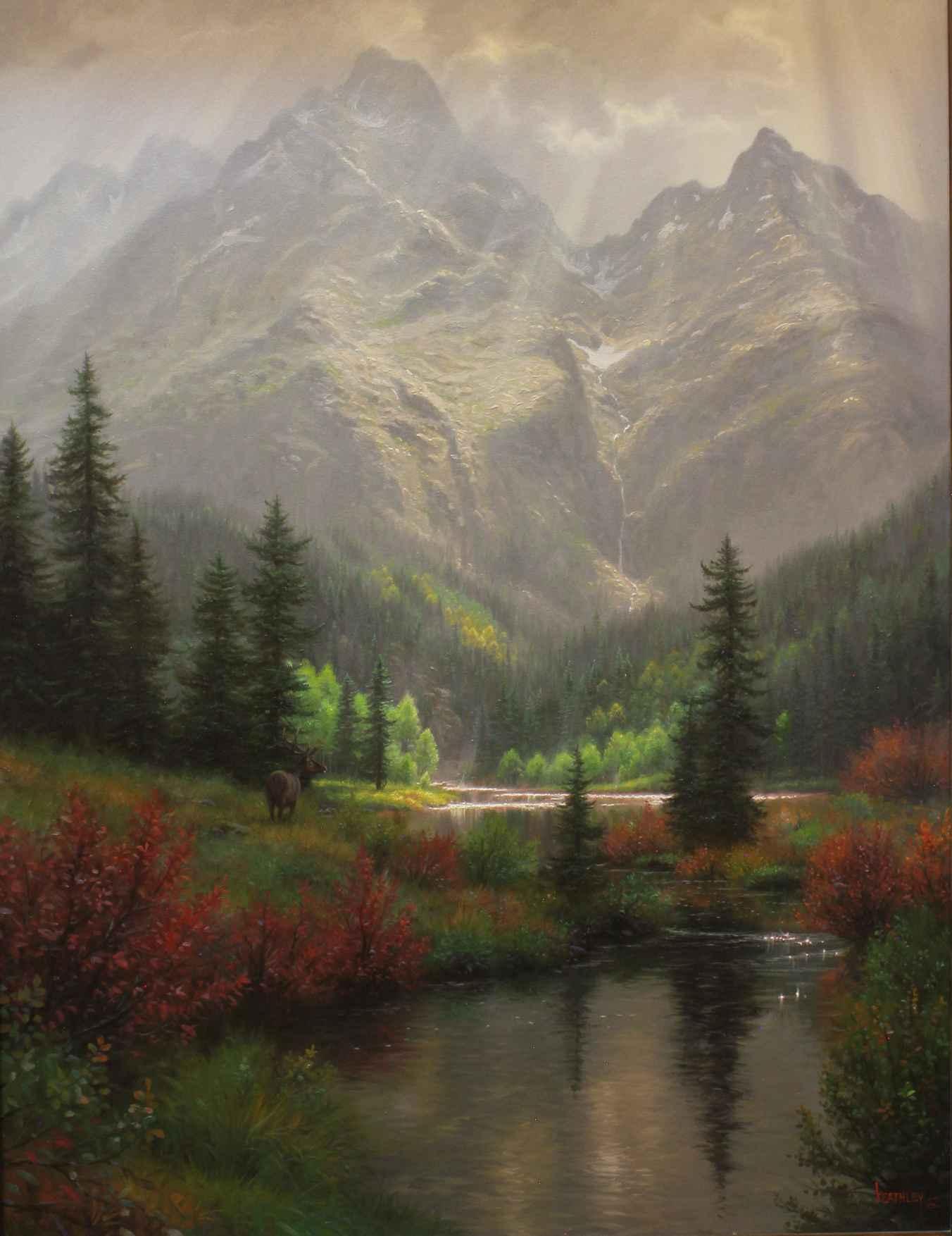 Highland Wonders - Mo... by  Mark Keathley - Masterpiece Online