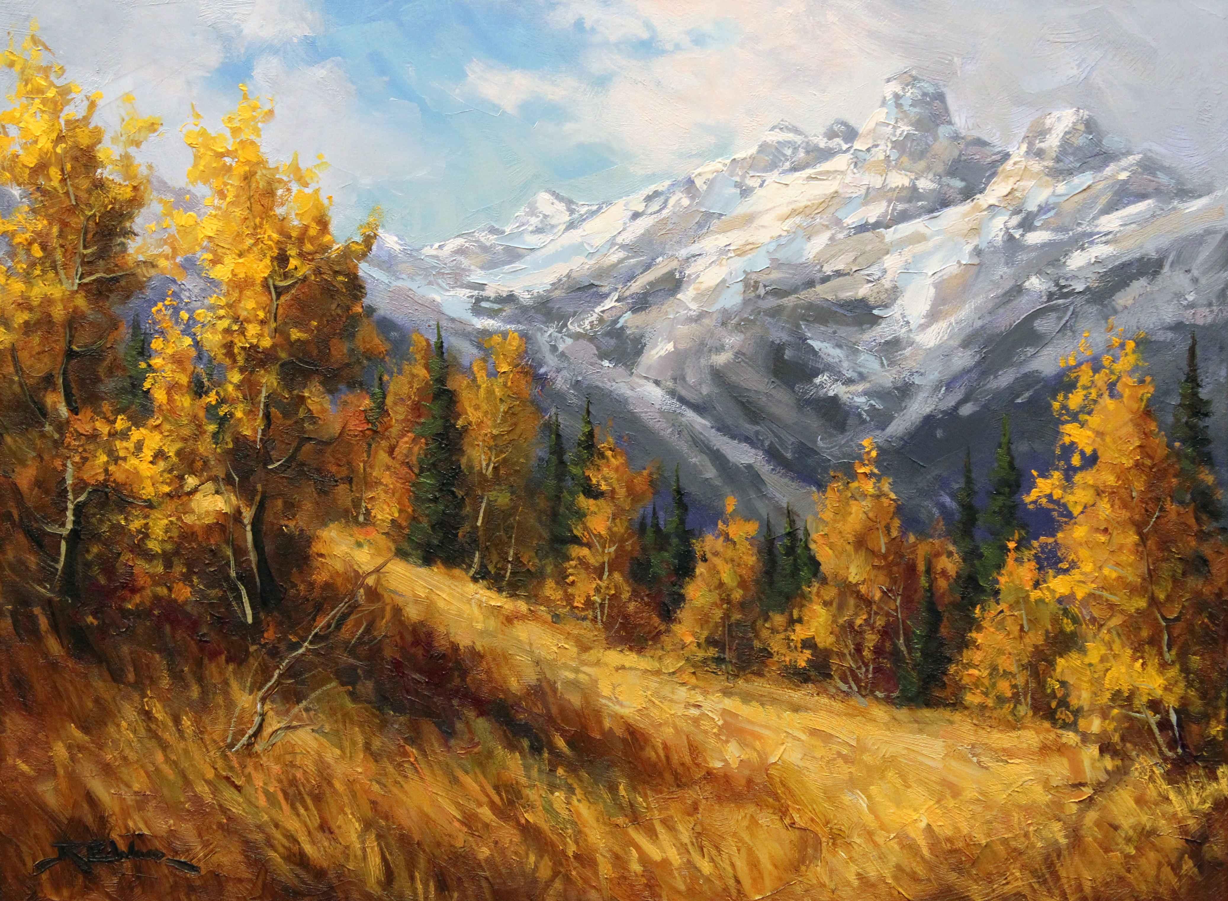 Canoe Mountain  by  Robert E. Wood