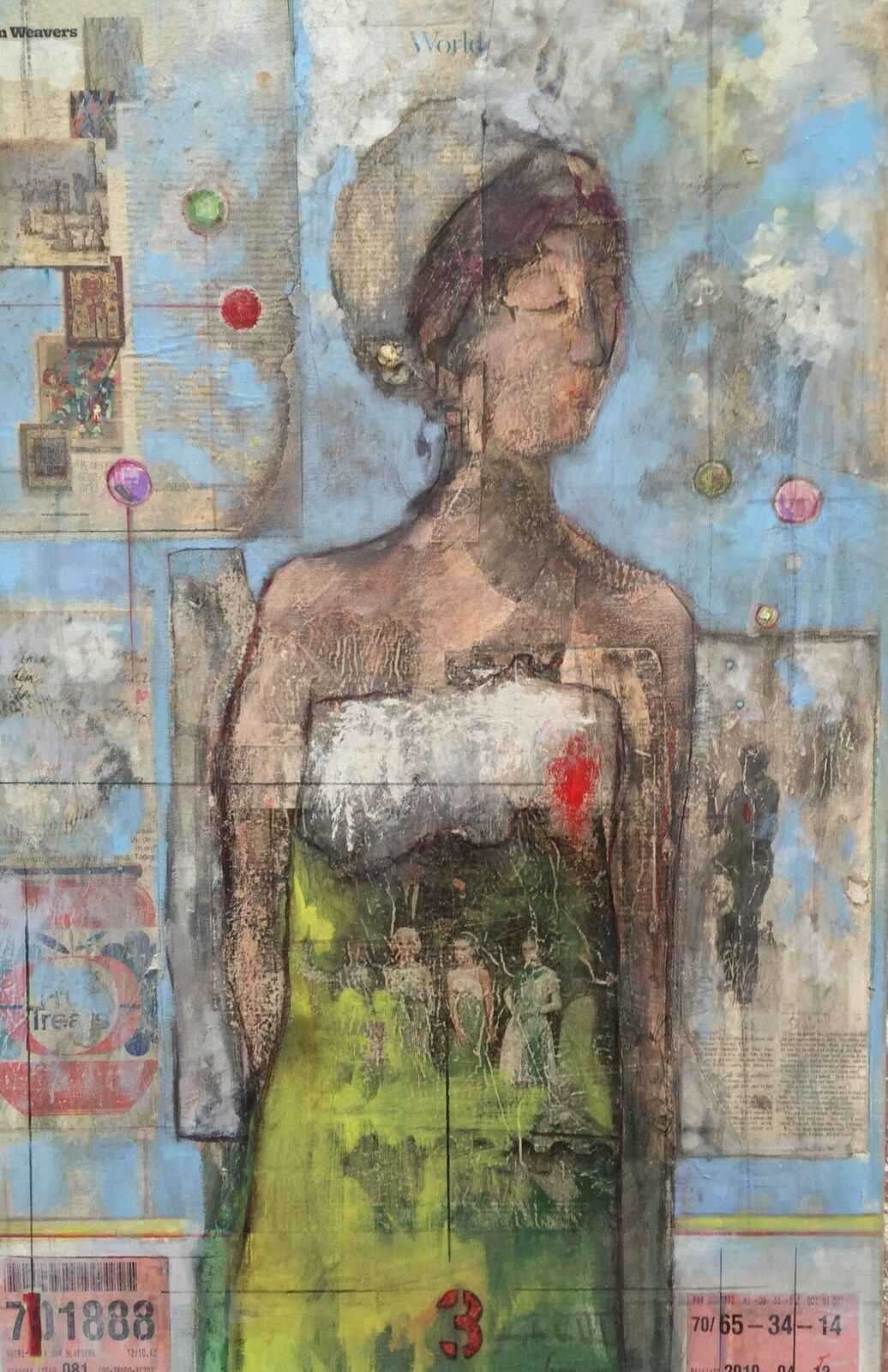 She Thinks by  Traeger di Pietro - Masterpiece Online