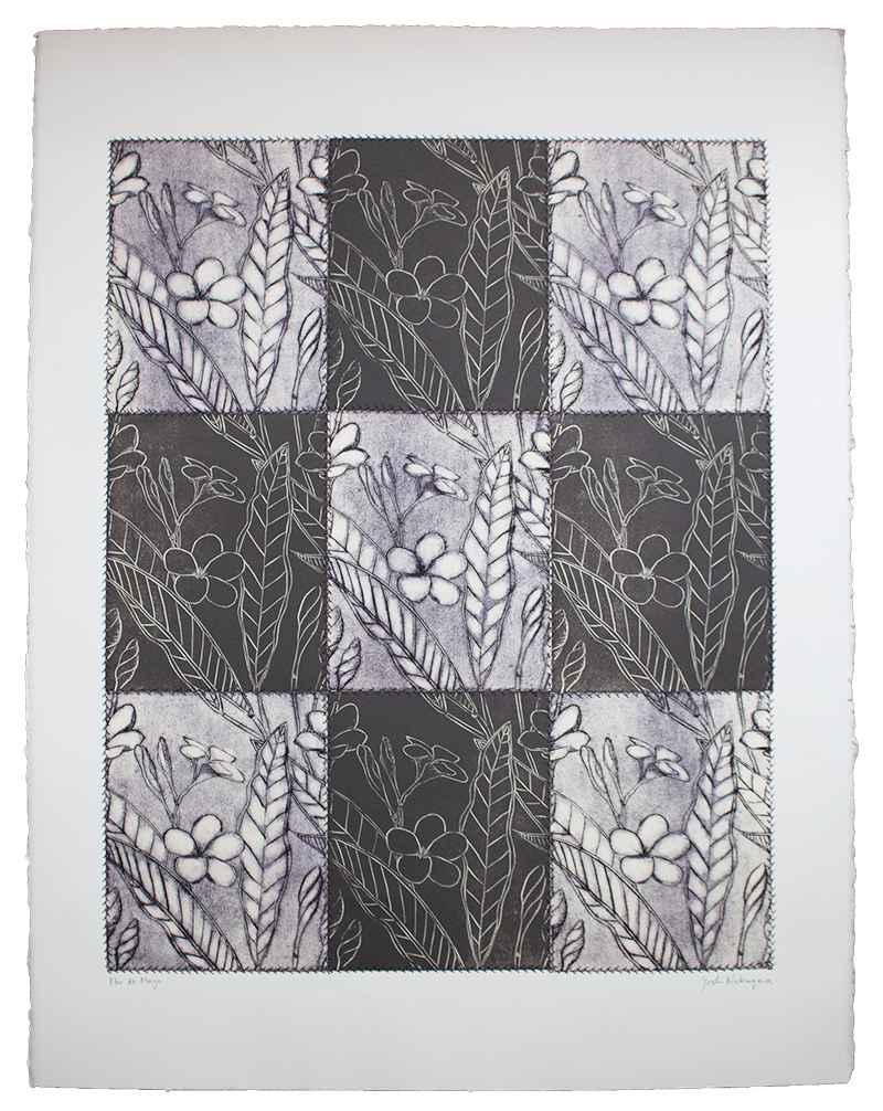 Flor de Mayo (Purple) by  Yoshi Nakagawa - Masterpiece Online