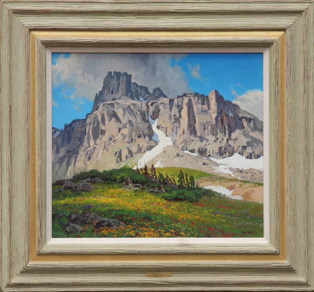 Mendota Peak by  Lanny Grant - Masterpiece Online