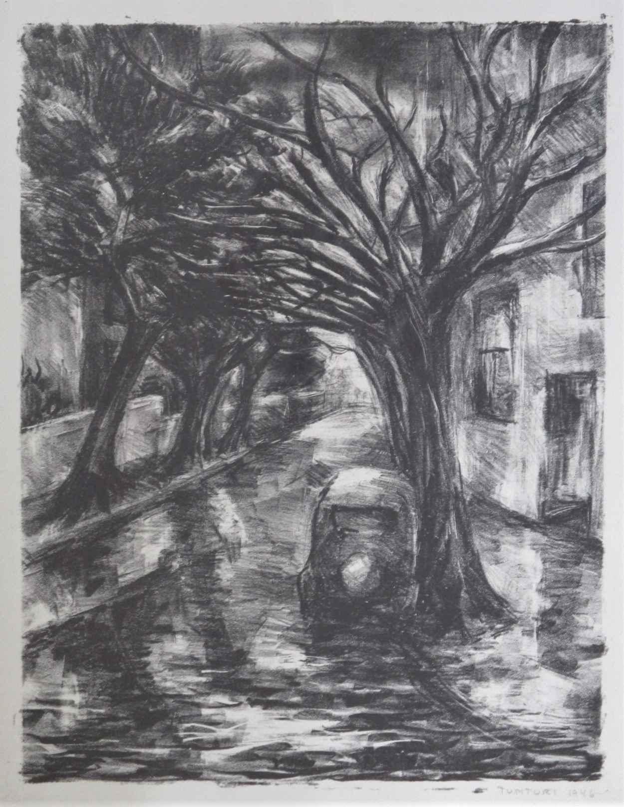 Untitled (Car on stre... by  Steven Tunturi - Masterpiece Online