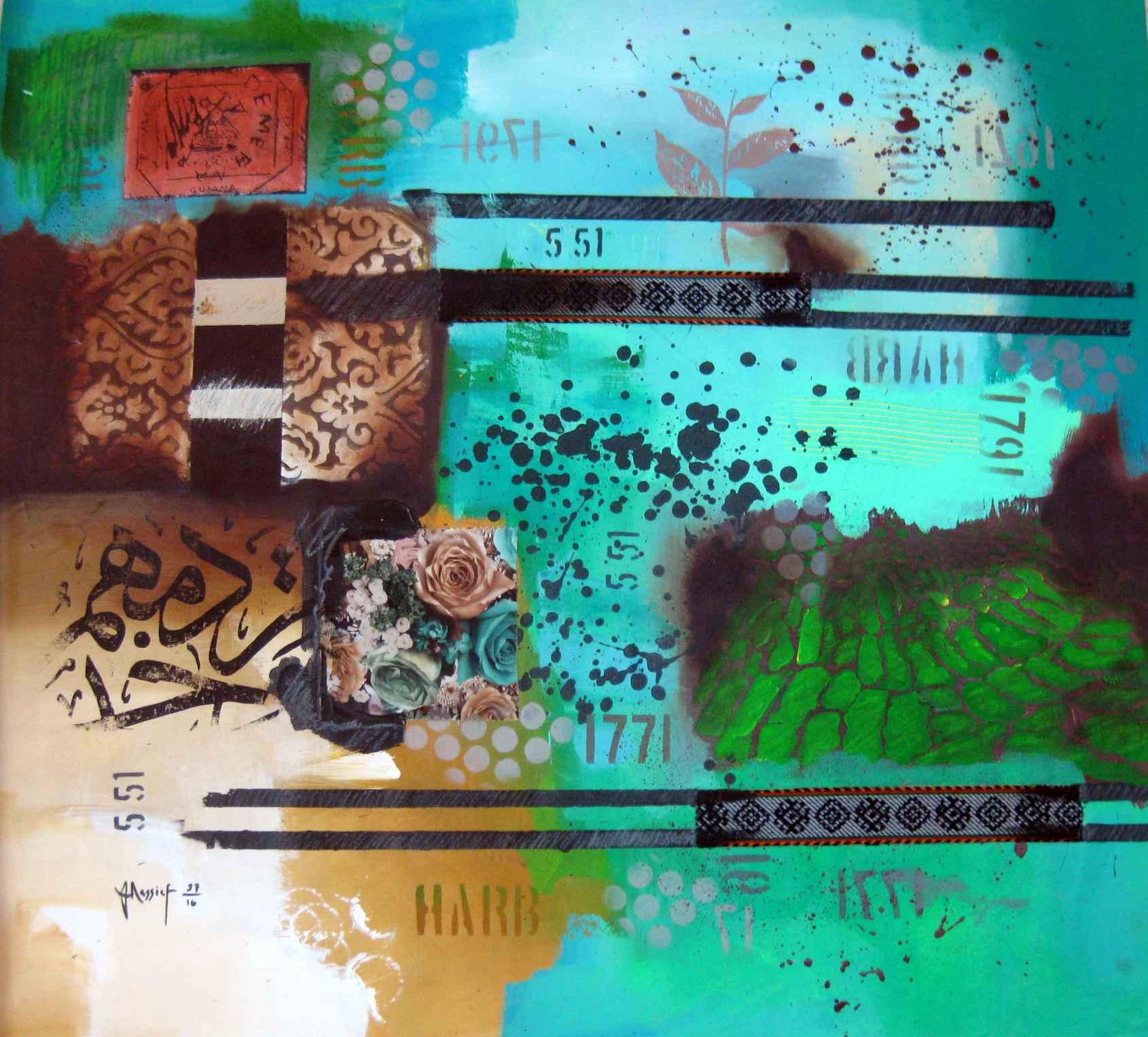 Because Aqua by  JeanClaude Elias Nassief - Masterpiece Online